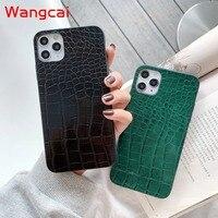 Funda de silicona a prueba de golpes para móvil, carcasa de lujo con patrón de cocodrilo para Huawei Y9 Y6 Y7 Prime pro Y5 2019 2018 P smart Z Plus 2019