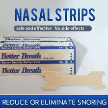 300 pcs/lot Better breath Breathe Right Nasal Strips Anti Snoring Strips Sleep & Snoring Nasal Strips Sleep Better Health Care