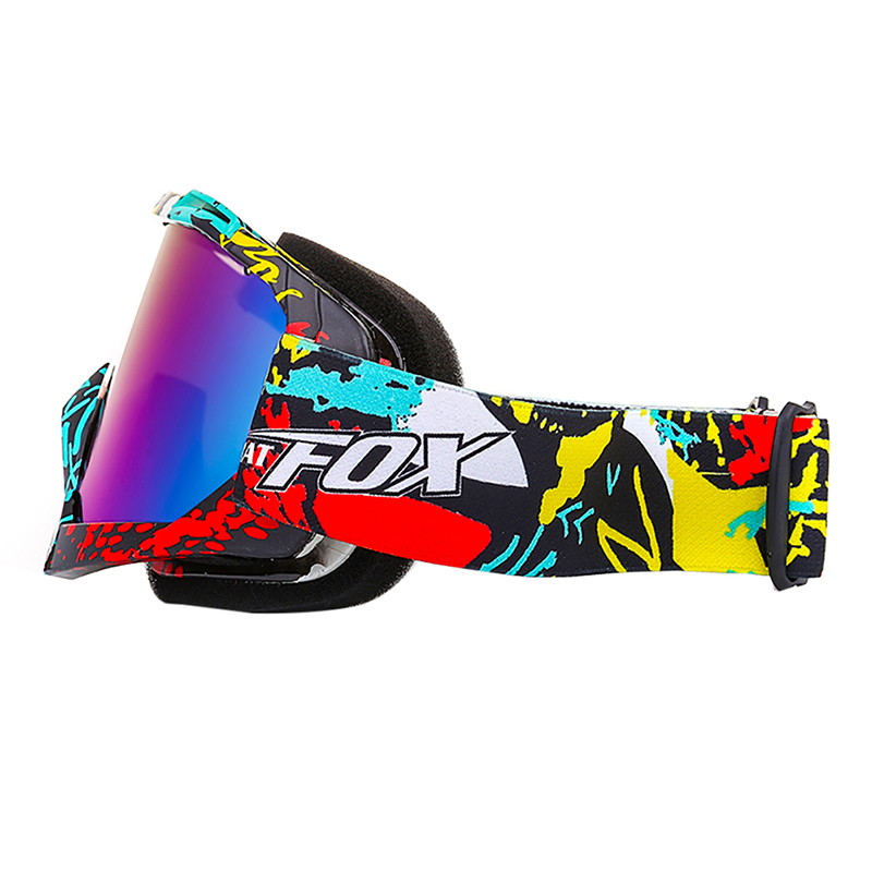 New Men Women Snow Snowboard Goggles Skiing Eyewear Ski Goggles Single Anti-Fog Big Ski Mask Glasses Skiing Multi-color Goggles