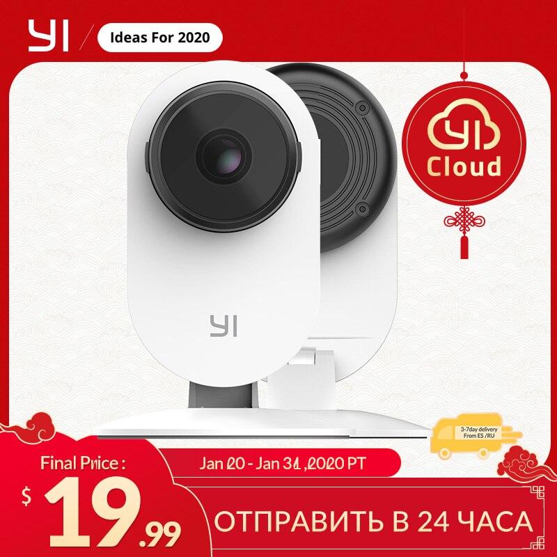 YI 1080p Home Indoor Camera Sistema De Vigilância De Segurança IP Com Visão Noturna Para Casa/Escritório/Bebê/ Babá/Monitor
