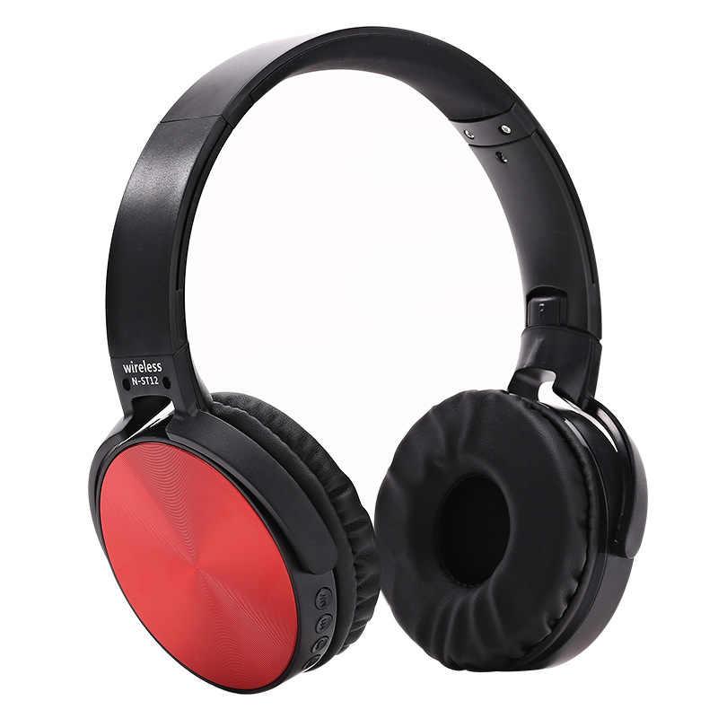 سماعة رأس بخاصية البلوتوث صدمت مضخم صوت سماعة لاسلكية تعمل بالبلوتوث سماعة ST12 للهاتف المحمول سماعة رياضية سماعة رأس بخاصية البلوتوث