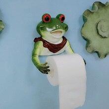 Смола животных Туалет Подставка для бумаги Смола собака динозавр слон лягушка бумажный держатель полотенец бумажный чехол коробка держатель кухонной бумаги