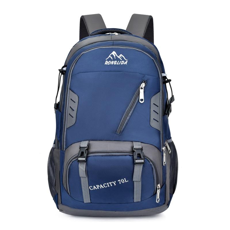 70L водонепроницаемый мужской походный рюкзак для альпинизма походный рюкзак для ноутбука женский спортивный рюкзак