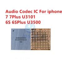 2-50pcs 338S00105 códec de Audio IC U3101 para iphone 7 7plus 6 6S 6SPlus U3500