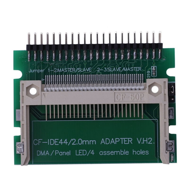 IDE 44 Pin Male To CF Compact Flash Male Adapter Connector