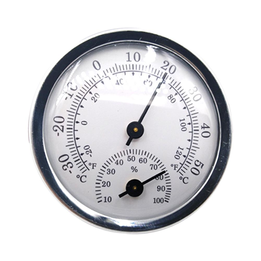 New Diameter 57mm Mini Thermometer High Precision Hygrometer Humidity Meter For Indoor Greenhouse