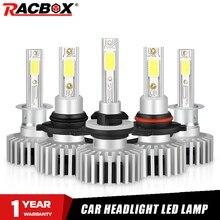 Автомобильные светодиодные лампы H7 H1 H3 H4 H11 H8 H9 H27 880 881 противотумансветильник 12В 24В 10000лм лампа 3000K 6500K 10000K Hb4 Hb3 9005 9006