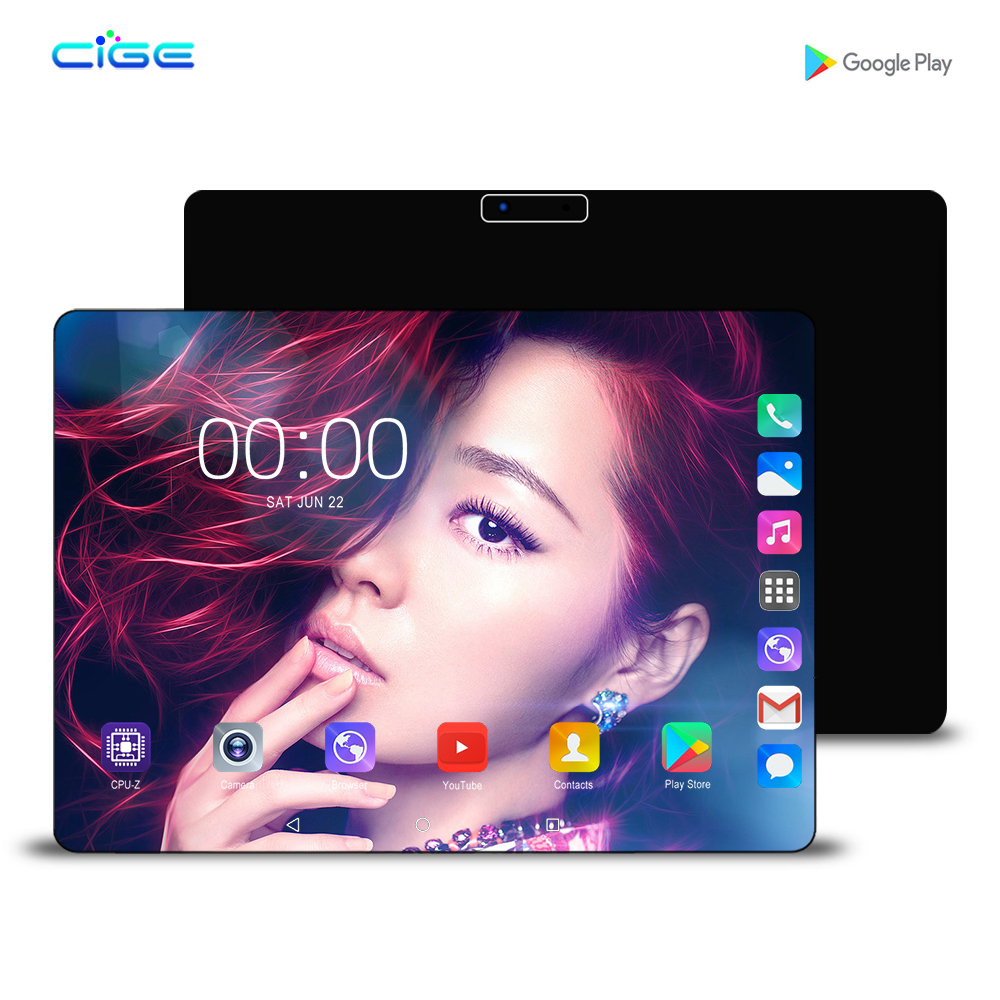 Mx960 New 2.5D Tempered Glass 4G LTE 10 Inch Tablet PC 8 Core 6GB RAM 128GB ROM Android 9.0 GPS Wifi Bluetooth Tablets 10 10.1