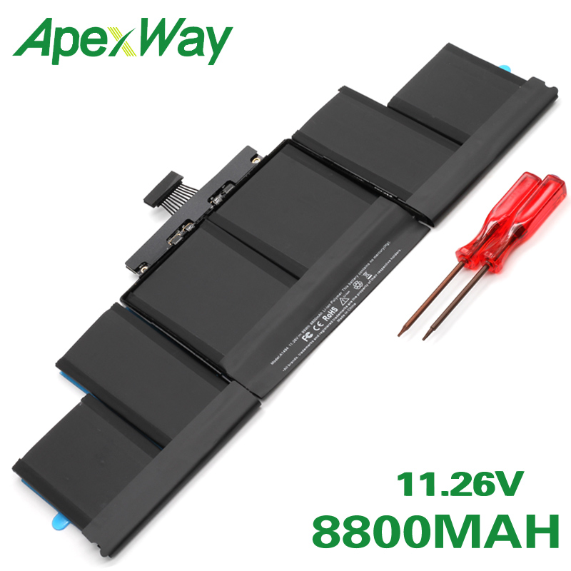 ApexWay A1494 99Wh 11,26 V ME293 ME294 laptop <font><b>batterie</b></font> für Für Apple <font><b>Macbook</b></font> <font><b>Pro</b></font> <font><b>15</b></font>