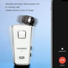 Оригинальный Fineblue F970pro Мини Портативный беспроводной Bluetooth BT 5,0 гарнитура F970 Pro Наушники вибрационные черные телескопические