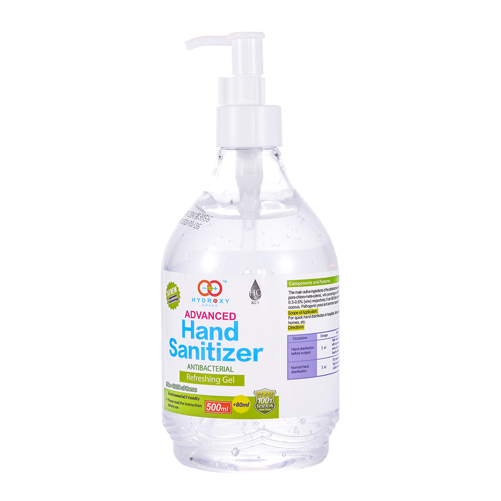 500ml Alcohol Antivirus Water-free Sanitizer Hand Washing Liquid Sanitizer Sterilization Gel Press Liquid Soap For Antibacterial