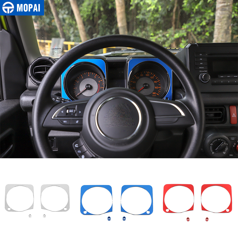 MOPAI Interior Mouldings For Suzuki Jimny 2019+ Car Dashboard Decoration Cover Accessories For Suzuki Jimny JB74 2019+
