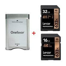 Yeni!!! Lexar 16GB 32GB SD SDHC kart UI profesyonel 95 MB/S 633X + SD SDHC kart adaptörü dönüştürücü mercedes Benz