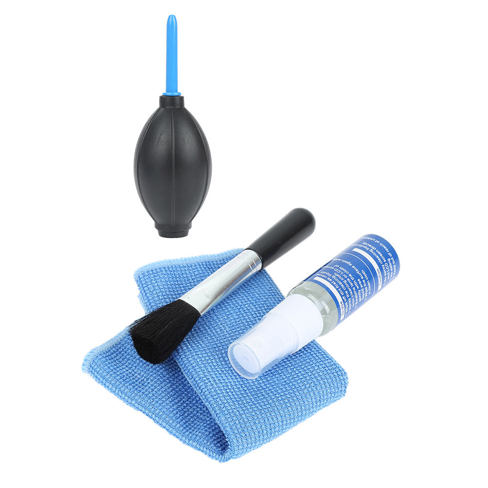 4 In 1 Keyboard Cleaner Dust Filter Cleaning Brush Kits LCD LED Monitor TV Computer Laptop Cleaner For Macbook Pro Screen