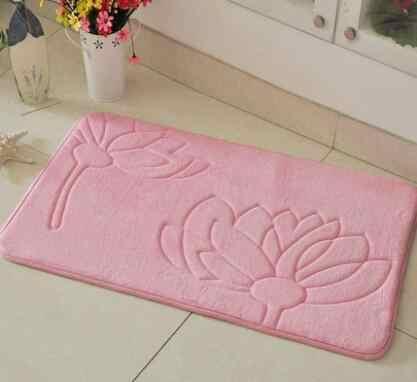 Kwiatowy nadruk dywany łazienkowe maty, 1 sztuk miękkie antypoślizgowe dywan łazienkowy zestaw mat do kąpieli, mata toaletowa zestaw dla dziecka dla dorosłych alfombras