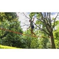 Slackline Kit Outdoor Extreme Slack Line Ratchet Tensioner Fitness Equipment for Improve Balance Skills Core Strength