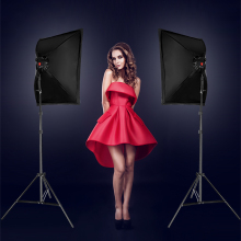 LED Photography Photo Studio Lighting Kit Video Equipment Softbox Light Tent Set with carrying bag
