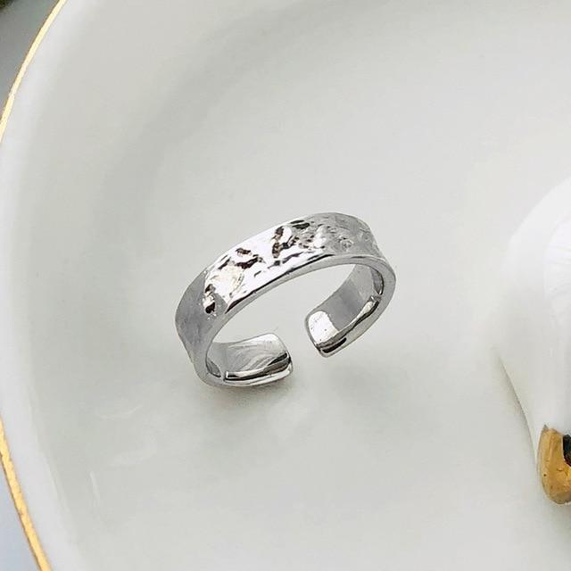 Купить серебряные кольца в стальном стиле подарок для женщин дизайнерское картинки цена