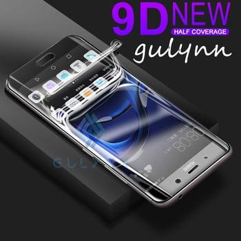 Перейти на Алиэкспресс и купить 9D защита экрана Гидрогелевая пленка для Sony Xperia 1 10 10Plus XA1 XA1 Ultra XZ1 Compact XA2 полное покрытие защитная пленка не стекло