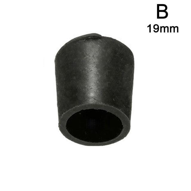 4 Pcs PE Plastic Round Chair Leg Caps Covers Rubber Feet Protector Pad Furniture Table Covers 16mm/19mm/25mm/30mm 2