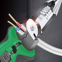 Cutter Hand-Tools Wire-Stripper-Cable Electrician-Pliers Terminal-Crimping Multifunctional