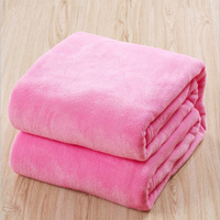 Velo coral flanela cobertores para camas de pele do falso vison lance cor sólida cobertura do sofá colcha macio inverno quente manta de pelúcia