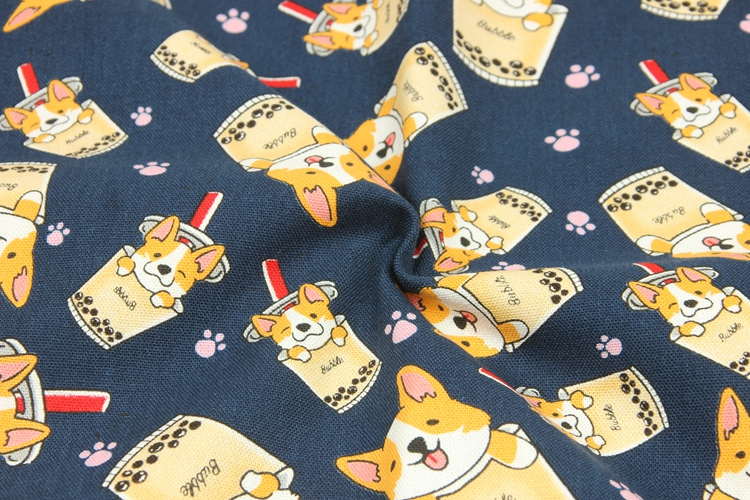 Thick Cotton Fabric 005