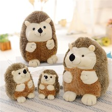 NEW 15-40CM Hedgehog Plush Toy Soft Hedgehog Doll Stuffed Animal Toys Cartoon Animal Kawaii Christmas Gift For Kids Dolls new arrival cute cartoon plush hedgehog dolls soft cotton stuffed kawaii hedgehog plush baby toys birthday gifts for kids