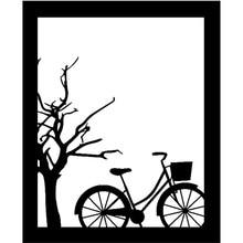 DiyArts Autumn Dies Tree Frame Dies Bike Metal Cutting Dies Scrapbooking Card Making Embossing Stencil Die Cut Template 2019 New diyarts dies lace frame metal cutting dies new 2019 for scrapbooking card making album embossing die cut new template