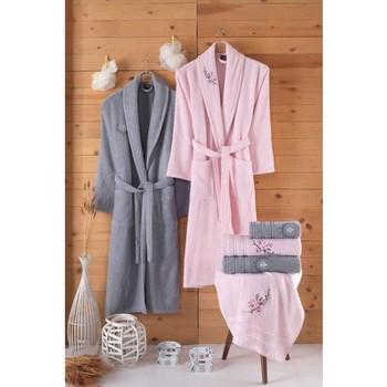 Zestaw ubrań dla rodziny nakakish 100 bawełny (10 sztuk)-Vıolet zestaw ubrań dla rodziny kobiety i mężczyźni dla mega size tanie i dobre opinie Nakkish TR (pochodzenie)