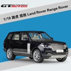 Welly GTA1: 18 Land Rover Range Rover SUV Simulatie Legering Model Auto Collectie Gift Decoratie speelgoed