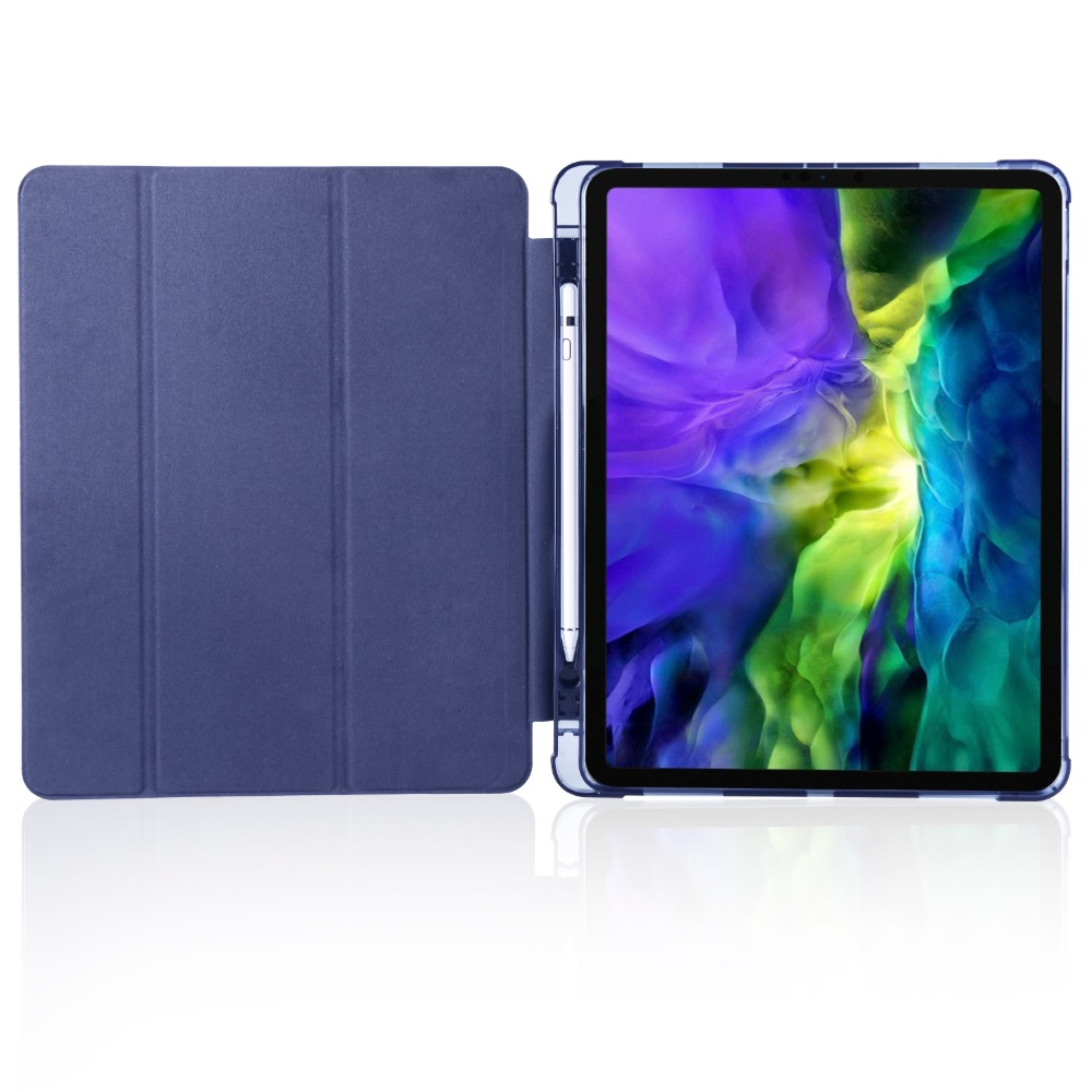 iPad For Holder Pro for 2020 Pencil iPad 2018 Shell Case Cover Soft Apple 9 12 with TPU