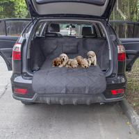 Anself Non slip Waterproof Dog Cargo Liner Safety Hammock Pet Car Back Seat Cover Protector Mat Car Dog Seat Cover Pet Supply
