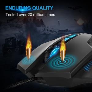 Image 3 - TeckNet 7000 인치 당 점 게임용 마우스 8 개의 프로그래밍 가능한 매크로 RGB 백라이트 LED 조명 모드 유선 MMO 컴퓨터 마우스