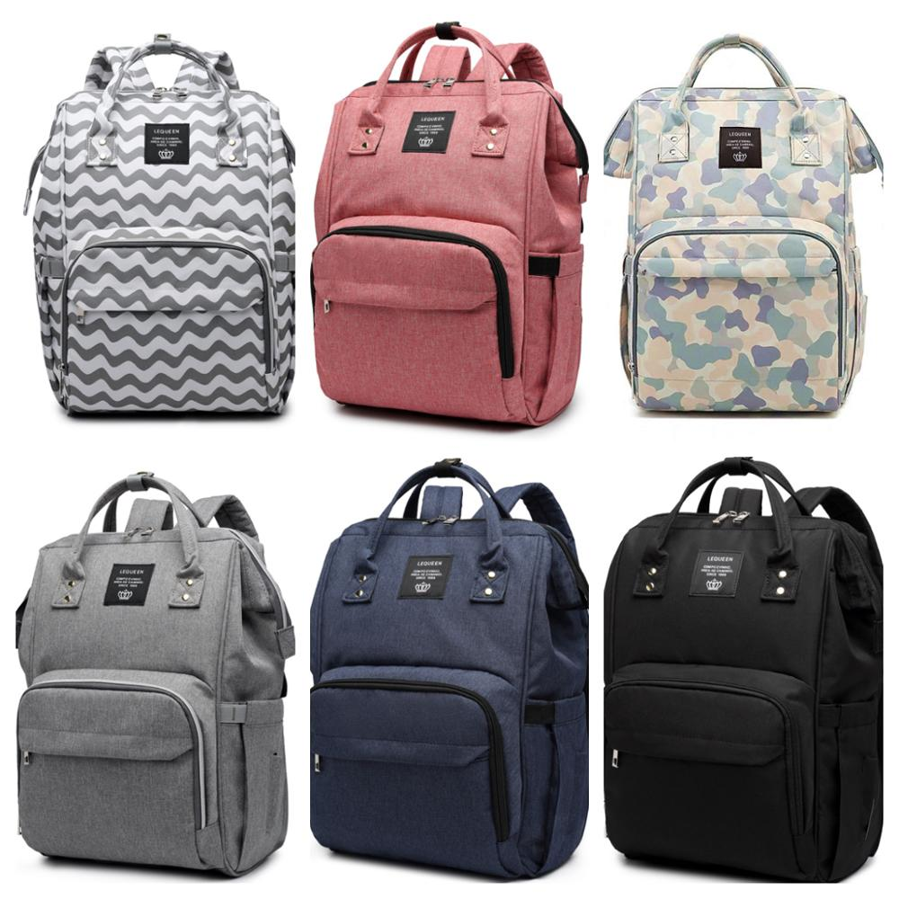 Diaper bag backpack Mommy Bag Maternity Large Capac Nappy Bag Bolsa Maternidad Printed Baby Bag Travel Backpack Baby Care Wetbag