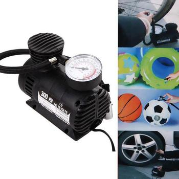 Portable 12V 300 PSI Auto Car Pump Electric Tire Inflator Mini Air Compressor image