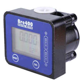 Miernik przepływu niebieski LCD wyświetlacz wysoka dokładność ze stopu aluminium ze stopu aluminium paliwa przepływomierz silnika diesla 1 2 #8222 czujniki przepływu miernik do pomiaru przepływu dostęp do tanie i dobre opinie VBESTLIFE CN (pochodzenie) hydrauliczny NONE Flow Meter diesel flow sensors diesel flow meter sensors flow 1 2 Aluminum Alloy