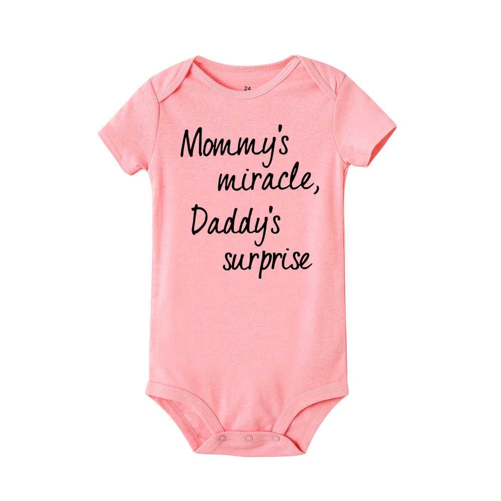 Crianças recém-nascidos do bebê meninas meninos bodysuit roupas do dia dos pais carta imprimir manga curta macacão bodysuit bebê menino bebê babe onesie