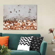 Home Decor Abstract Autumn Golden Forest Tree Canvas Painting Modern Prints and Posters Landscape Pictures