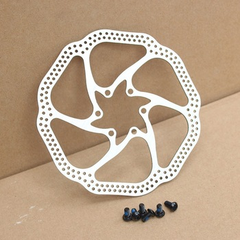 2 Pieces Brand New AVID HS1 MTB Road Folding Bike Disc Brake Rotors 160mm 6 Holes Disk Brake Rotors 12 Blots BB5/BB7 image