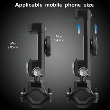 MTB Bike Handlebar Mount Phone Holder For Samsung Galaxy S10e  Motorcycle GPS Bracket with/ Compass Holder Stand Accessories trimble tsc3 hand thin bracket with compass tempo tsc3 tsc2 gps rtk bracket