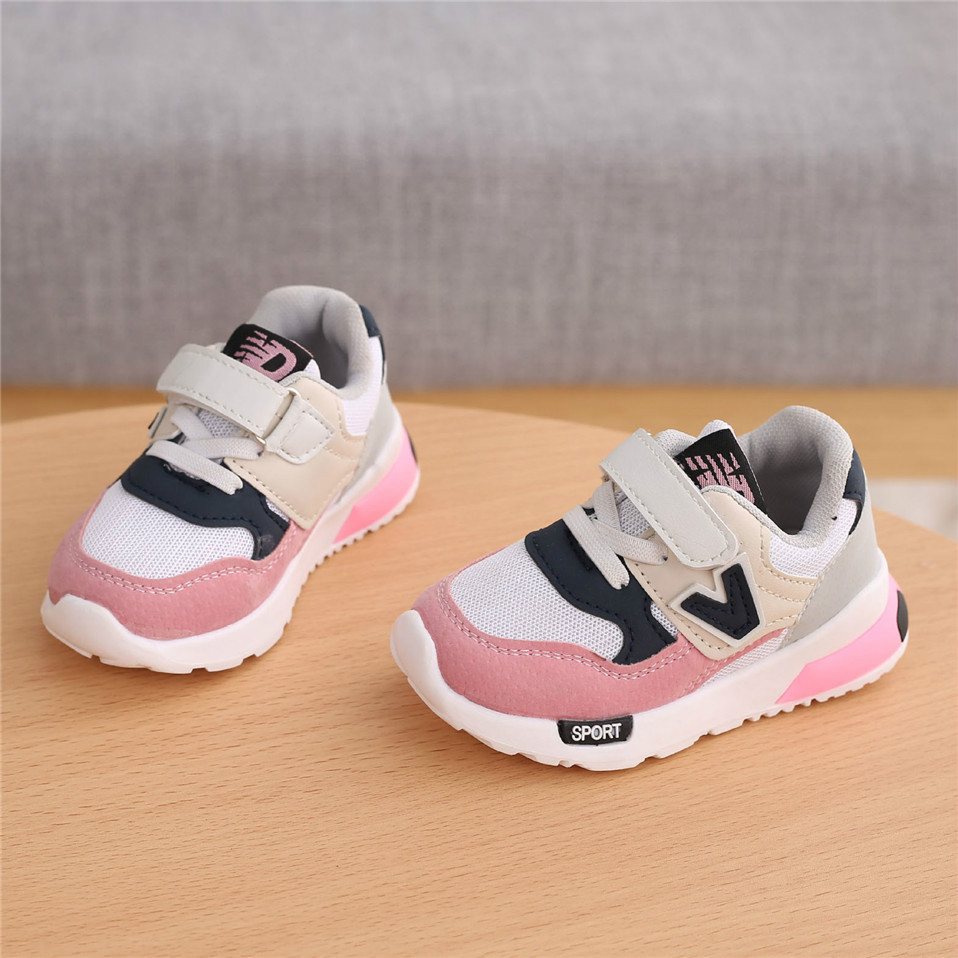 Spring Autumn Kids Shoes Baby Boys Girls Children's Casual Sneakers Breathable Soft Anti-Slip Running Sports Shoes Size 21-30 3