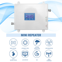 Signaal Booster Tri Band Versterker 900 1800 2100 Gsm Dcs Wcdma 2G/3G/4G Lte universal Signal Booster Intelligente Repeater Kit