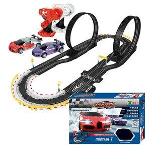 Детский Радиоуправляемый игрушечный электрический спортивный автомобиль самоуправляемый двухконтурный Радиоуправляемый автомобиль для ...