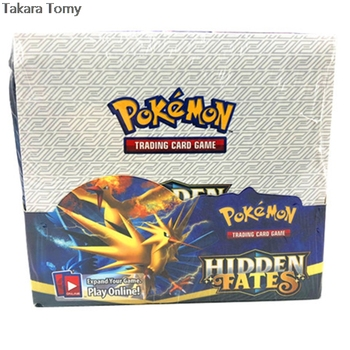 324pcs Pokemones cards Hidden Fates  Edition in English version Booster Box Collectible Trading Cards Game for kids 1