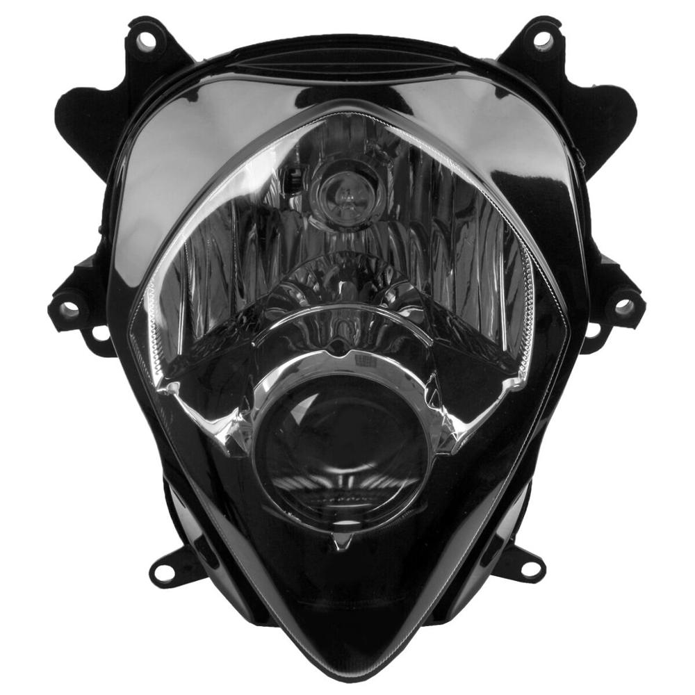 Black Headlamp Headlight Lens Cover Shield Protector Suzuki GSXR1000 07-08 K7