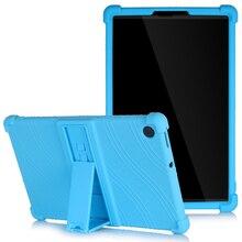Fall für Lenovo Tab M10 Plus 10,3 M10 HD 2nd Gen P10 E10 10,1 M8 E8 8,0 Kinder Fall Weichen silikon Stoßfest Abdeckung mit Ständer