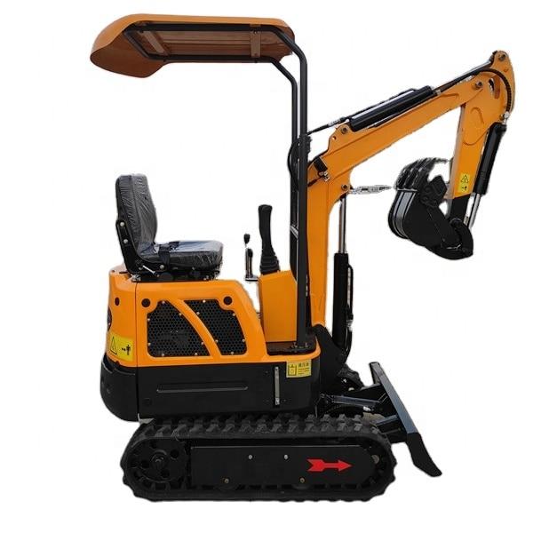 2020 New Smaller Mini Excavator Mini Bagger 1ton For Fast Delivery