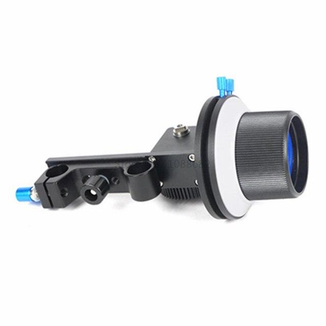 Jadkinsta B התמקדות בצע פוקוס עם הילוך טבעת עבור Canon 5D3 ניקון Sony עדשת DSLR עבור 15mm Rig מוט