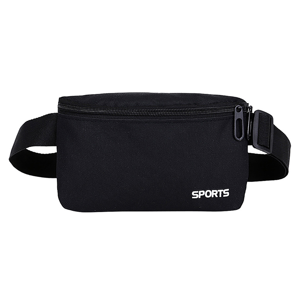 Pouch Belt Chest-Bags Waterproof Waist-Pack Travel Pink Unisex Women Fitness Gym Mobile-Phone-Holder